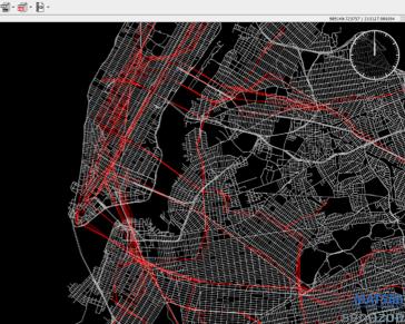 Network and transit data MATSim model