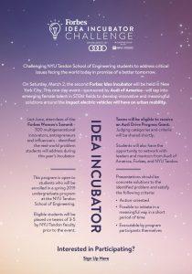 Forbes Audi Incubator Challenge
