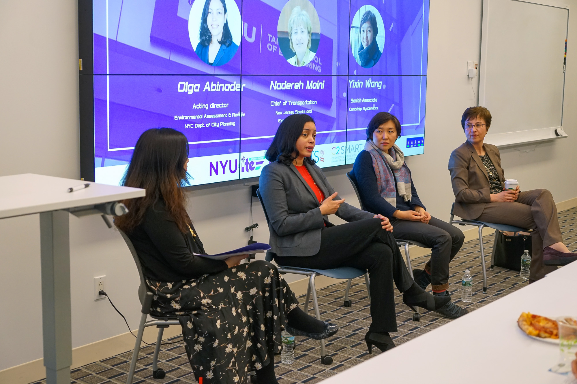 Women in Transportation Panel speakers and moderator