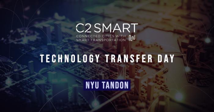 C2SMART Technology Transfer Day at NYU Tandon