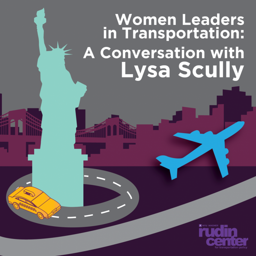 Women Leaders in Transportation: A Conversation with Lysa Scully