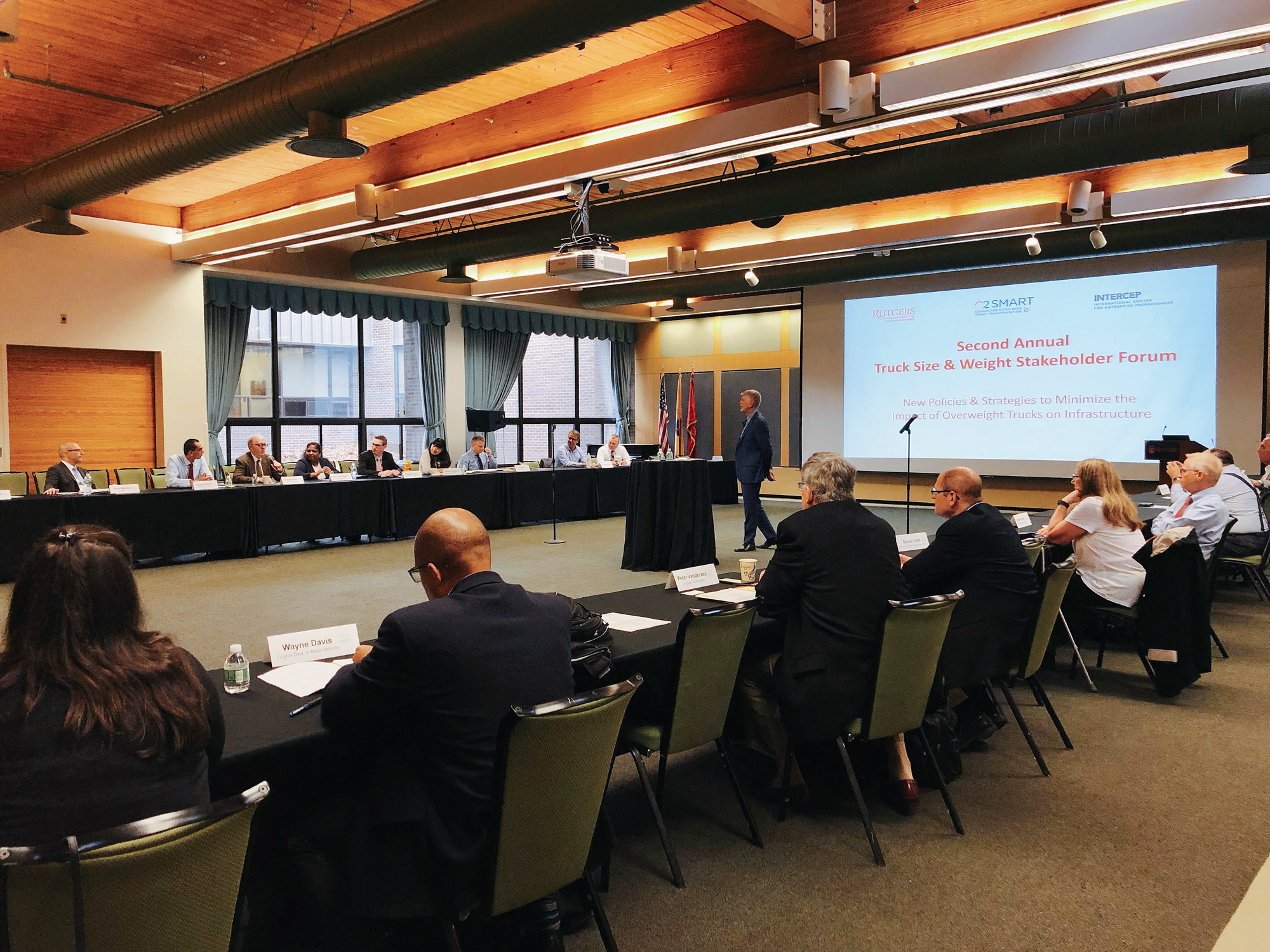 2nd Annual Truck Forum - full room
